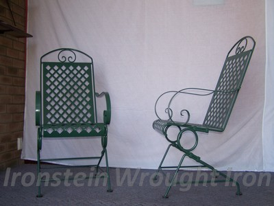 Sprung steel rocking chairs